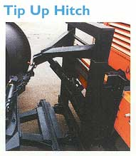 Tip Up Hitch