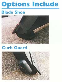 blade shoe and curb guard